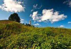 Russisches Jahrhundert der Kirche XIV Gorodnya stockfotografie