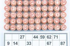 Russisches Lotto Lizenzfreie Stockbilder