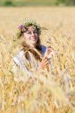 Russisches Mädchen Lizenzfreies Stockbild