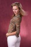 Russisches Mädchen Stockfotos