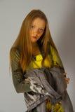 Russisches Mädchen Lizenzfreies Stockfoto