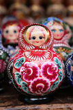 Russisches matryoshka stockfotos