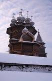 Russisches Museum Kizhi in Karelien Stockfotos