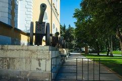 Russisches Mutterland - die der Kreml-Waffenkammer lizenzfreies stockfoto