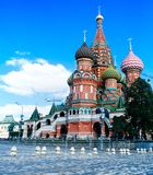 Russisches Mutterland - St. Basil Cathedral 1 Stockfotografie