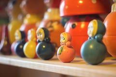 Russisches nationales Spielzeug - Matryoshka Lizenzfreies Stockbild