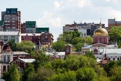 Russisches orthodoxes Kloster Lizenzfreie Stockbilder