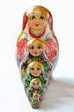 Russisches Puppe babushka Stockbild