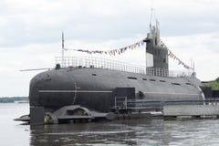 Russisches Unterseeboot Stockfoto