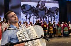Russisches Volksensemble Lizenzfreie Stockfotos