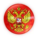Russisches Wappen - Abzeichen Lizenzfreie Stockfotografie