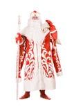 Russisches Weihnachtszeichen Ded Moroz Lizenzfreie Stockfotos