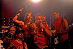 Russkaja concert, Szombathely, Hungary. Russkaja concert in Savaria Festival in Szombathely, Hungary Royalty Free Stock Photography