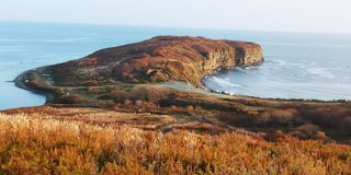Russkyi Island. Far East  of Russia royalty free stock image