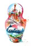 Russland Stockfoto