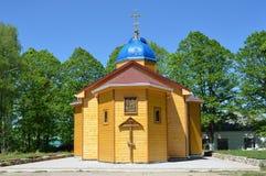 Russland, Adygea, Pobeda-Dorf, Mihaylo-Afonskaya verlässt (Kloster) Der Tempel zu Ehren des Dormition der Mutter des Gottes Stockfoto