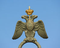 Russland-Arme mit Adler Lizenzfreies Stockfoto