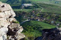 Russland, der Kaukasus, Ansicht vom Berg VerbludCamel Stockbilder