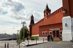 Russland Der Kreml auf Rotem Platz in Moskau 25. Mai 2017 Lizenzfreies Stockfoto