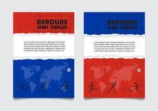 Russland-Flagge färbt Hintergrund Vektordesign kann in Adve verwendet werden Stockfoto