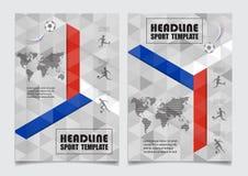 Russland-Flagge färbt Hintergrund Vektordesign kann in Adve verwendet werden Stockfotos