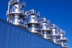 Russland. Jamal Region. Die Erdgasproduktion lizenzfreies stockbild