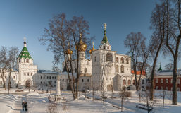 Russland Kostroma Ipatiev Kloster Stockbilder