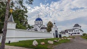 Russland, Krasnodar-Region Ansicht des weiblichen Klosters stockbild
