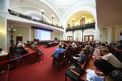 Russland Marine Industry Conference 2012 Lizenzfreies Stockfoto