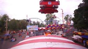 Russland, Moskau am 8. August 2014 Ansicht von den ferris stock video