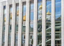 Russland, Moskau, der Kreml, der der Zustands-Kreml-Palast Stockfotos