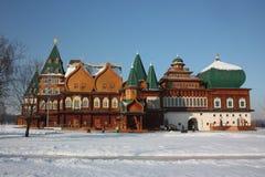 Russland, Moskau. Der zurückgestellte Palast. Stockfoto