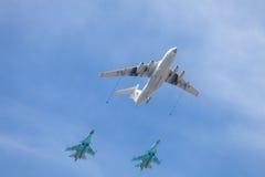 Russland Moskau - 9. Mai 2015 Victory Day Lizenzfreies Stockfoto