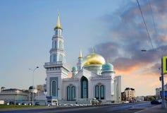 Russland moskau Moschee stockfotos