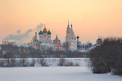 Russland. Moskau-Region. Ensemble von Kolomna Kremlin lizenzfreies stockfoto