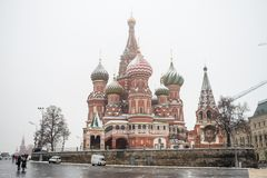 Russland, Moskau: St.-Basilikumkathedrale Lizenzfreie Stockfotos