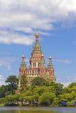 Russland, Peterhof die Kirche von Str. Peter Stockfoto