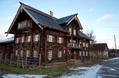 Russland Petrosawodsk Ethnographisches Museum Sheltozero Veps genannt nach R P Lonin 15. November 2017 Lizenzfreies Stockbild