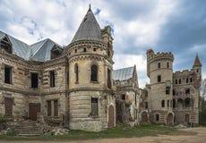 Russland Schloss im Dorf Khrapovitsky Muromtsevo Lizenzfreies Stockfoto