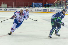 RUSSLAND, AM 10. SEPTEMBER: Ilya Kovalchuk. Stockfotos