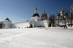 Russland. Seriev Posad Stockfotos