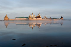 Russland. Solovky. Kloster Lizenzfreies Stockfoto
