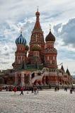 Russland St.-Basilikum ` s Kathedrale auf rotem Quadrat in Moskau 25. Mai 2017 Stockfoto