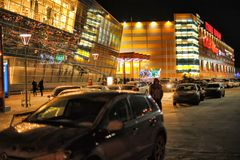 Russland, St Petersburg, 27,01,2013 das moderne Einkaufszentrum Stockbild
