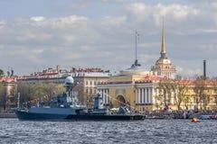 Russland, St Petersburg, Neva Stockfotos