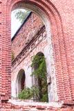 Russland, St Petersburg, Priozersk, im August 2016: Malerische Ruinen Lizenzfreie Stockfotografie