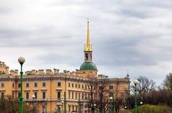 Russland St Petersburg Technik Mikhailovsky-Schloss Stockbild