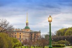 Russland St Petersburg Technik Mikhailovsky-Schloss Stockbilder