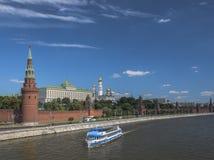 Russland Stadt von Moskau kremlin Stockbild