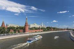 Russland Stadt von Moskau kremlin Lizenzfreie Stockfotografie
